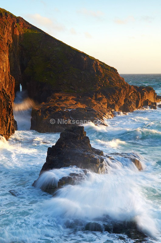 Natural Arch at Nanjizal Beach | Cornwall Photography Gallery