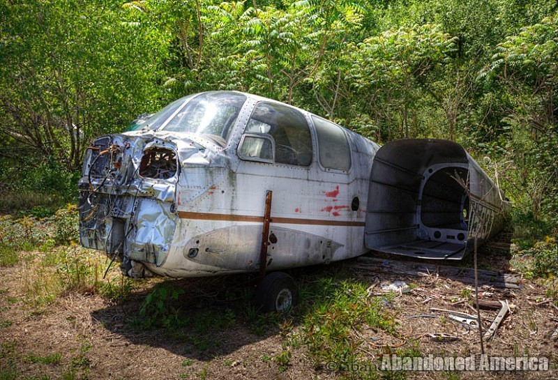 Abandoned airplane graveyard - Matthew Christopher's Abandoned America