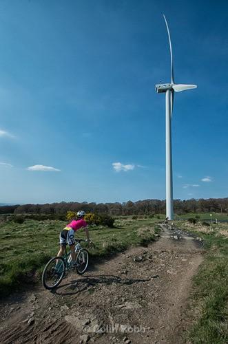 Cathkin Braes mountain bike track | Commonwalth Games 2014