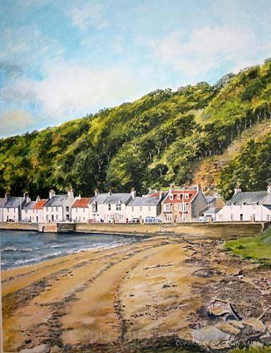 'Limekilns, Fife' - Landscapes
