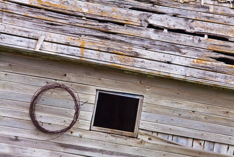 square window - Palouse