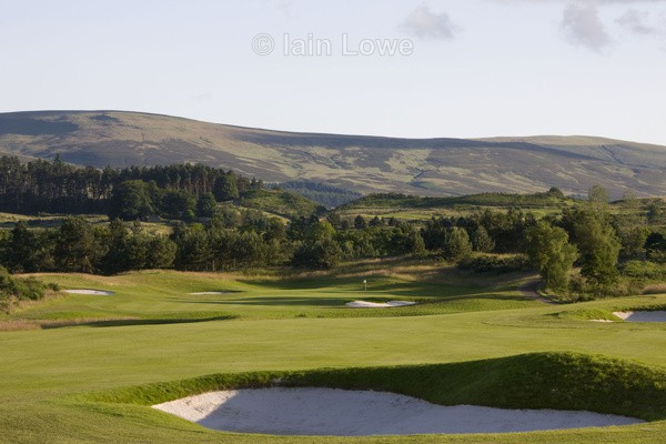Gleneagles PGA 16th Hole - Gleneagles PGA Course - 2014 Ryder Cup host course