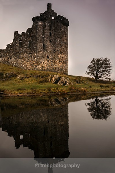 Kilchurn Reflections. - Landscape