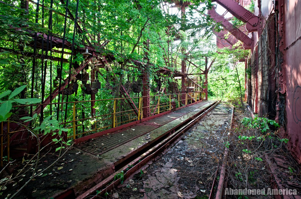 Carrie Furnaces (Rankin, PA) | Overgrown Trestle - Carrie Furnaces