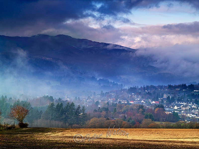 Pitlochry Perthshire - Scotland