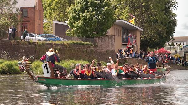 5 - Dumfries Devorgilla Dragon Boat Race 2010