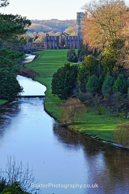 The Abbey By The River - Fountains Abbey