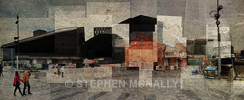 Mann Island - Photographic Cubism