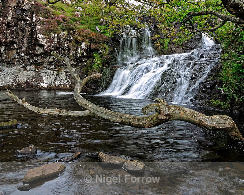 Eas Fors Waterfall on the Isle of Mull - Scotland
