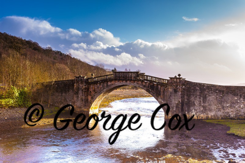Old Stone Bridge - Landscapes