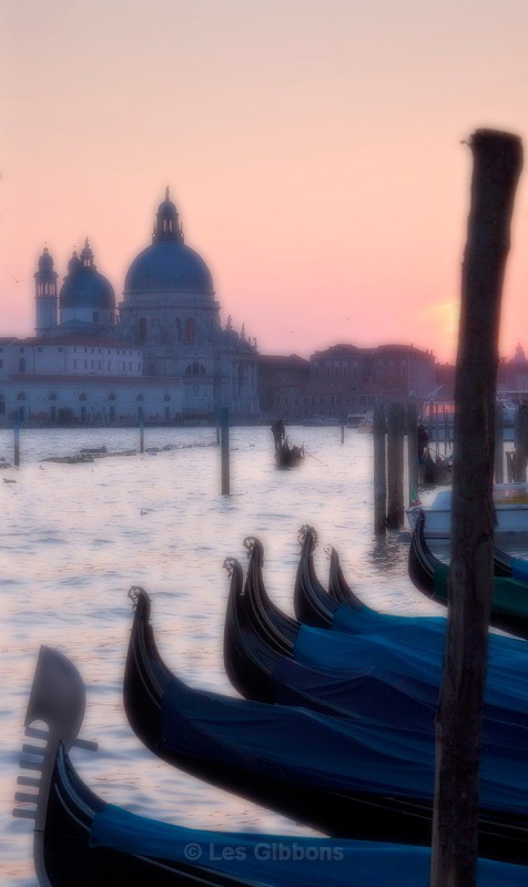 Saluate at sunset - Venice