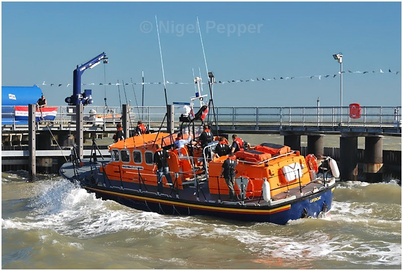 Pier Arrival - Lifeboats