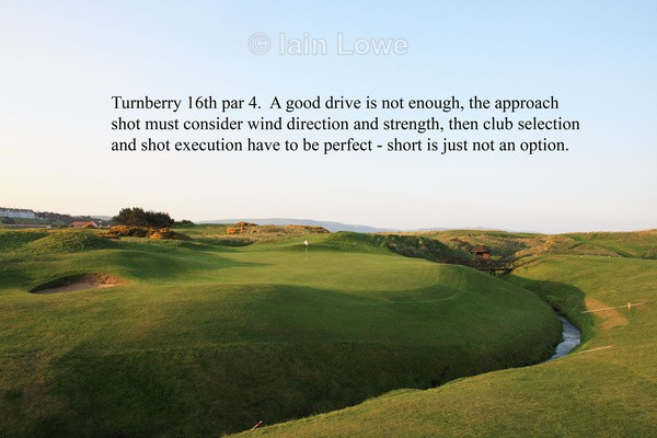 Turnberry 16th Green - Turnberry Ailsa Championship Course