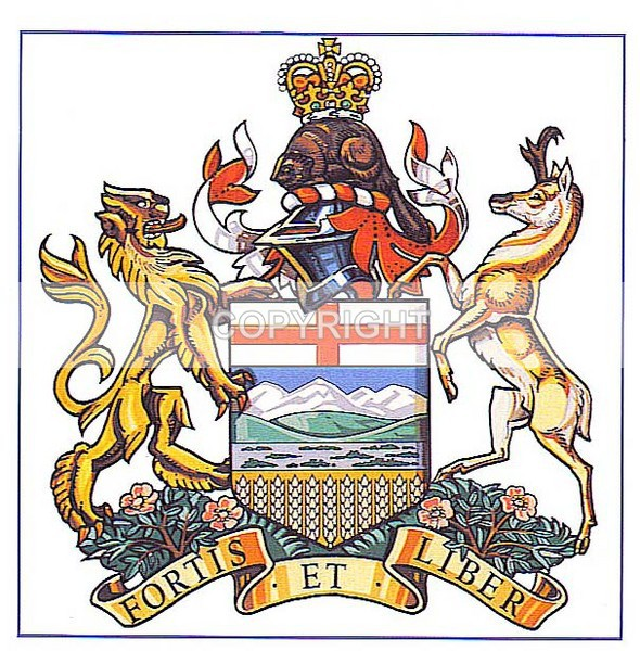 Province of Alberta - CC-200 - Heritage Family Name and Coat of Arms Store