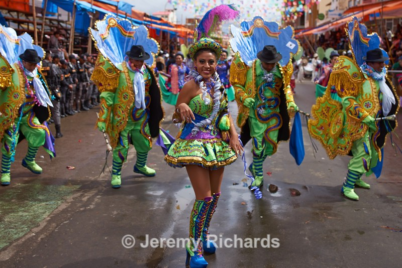 Morenada Dance Group - Oruro Carnival 2017