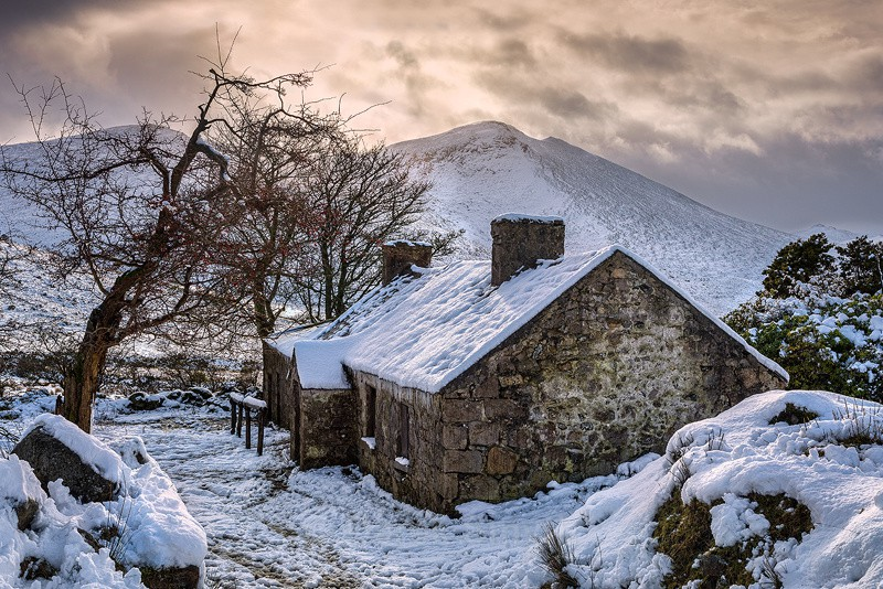Deserted Mountain Cottage - Co. Down