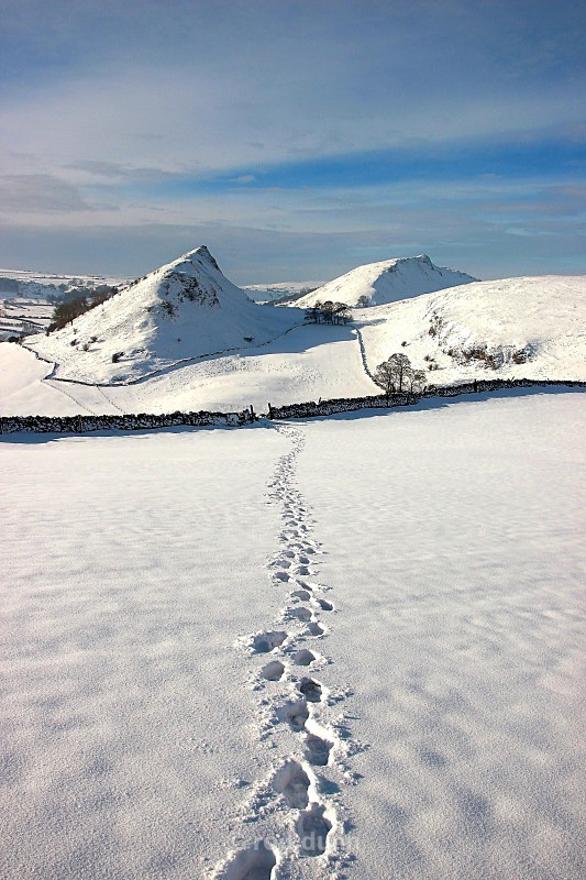 Tracks to the hills - Peak District