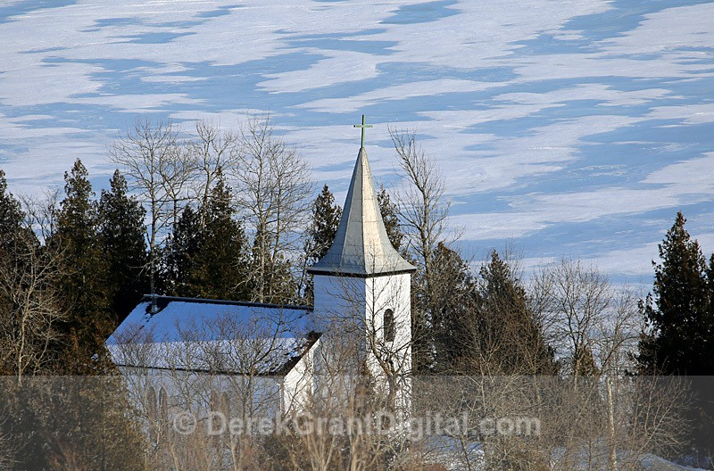 St. Paul's Anglican Church, Whitehead New Brunswick, Canada  - 2 - Churches of New Brunswick
