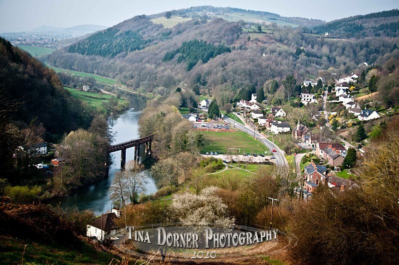 Redbrook Bridge and River Wye by Tina Dorner Photography, Forest of Dean and Wye Valley, Gloucestershire