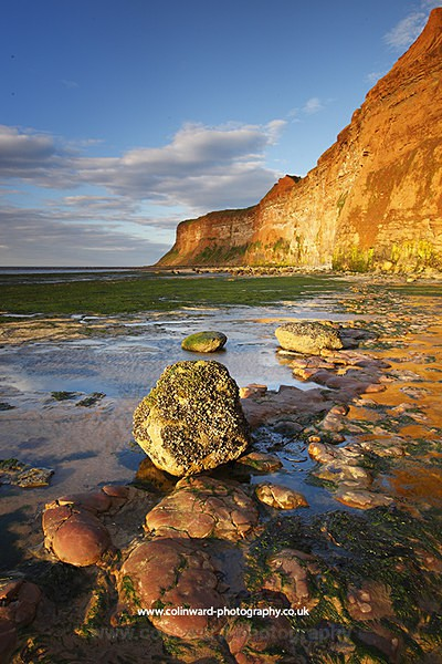 Hunt Cliff, Saltburn.   Ref 8210 - North Yorkshire and Cleveland