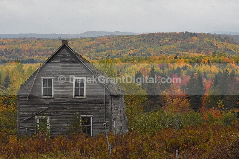 Old Homestead New Brunswick Canada - Old Barns & Buildings