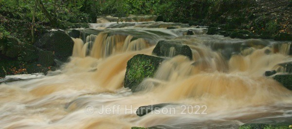 Rathmell Beck (image Rath B 07) - Waterscapes and Waterfalls