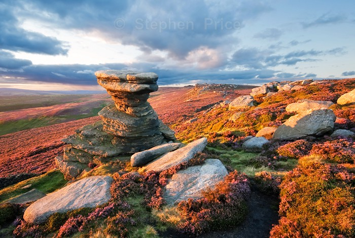 Peak District Photography Location | Salt Cellar Sunset