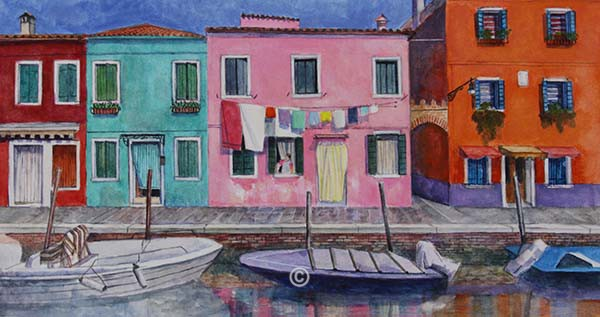 Burano, Venezia. - New Works
