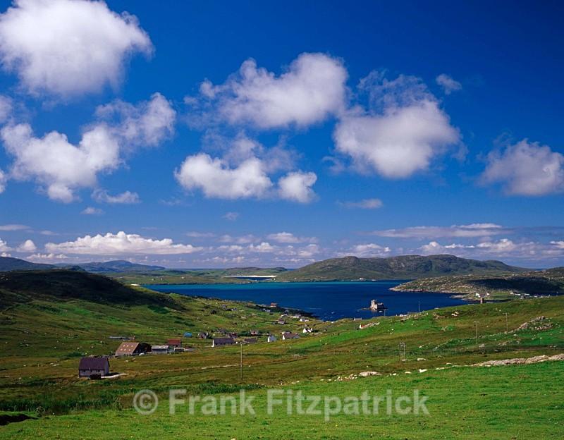 Castlebay, Island of Barra, Outer Hebrides, Scotland - Barra