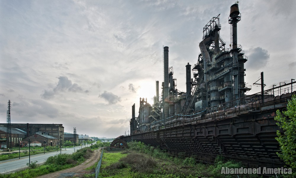 Bethlehem Steel (Bethlehem, PA) | Elevated Trestle View - Bethlehem Steel