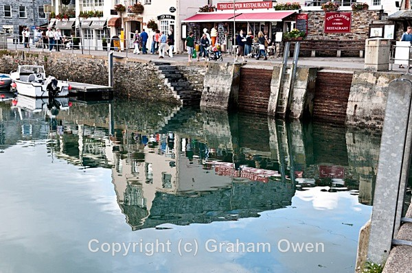 Reflections of Padstow Harbour - Cornwall
