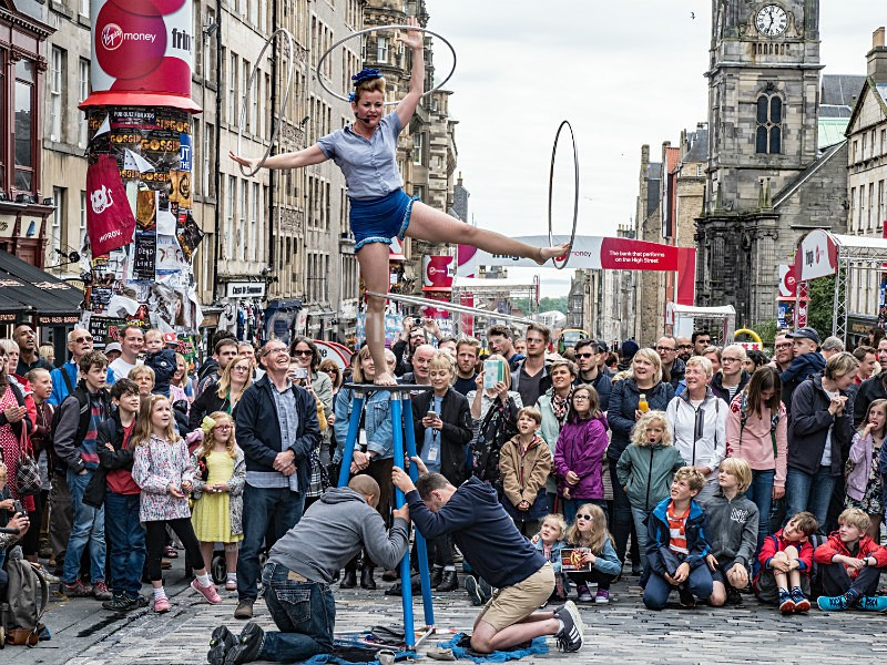 Fringe Act - Curtis Welsh - THE SCOTSMAN - READERS GALLERY