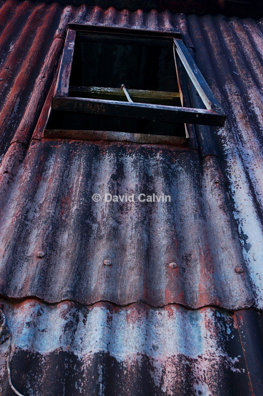 Corrugated Hut 1 - Dereliction