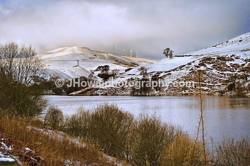 castle hill reservoir - clackmannanshire
