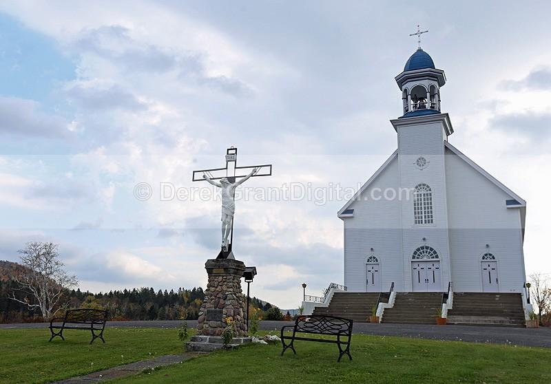 Baker Lake Church ~ New Brunswick Canada - Churches of New Brunswick