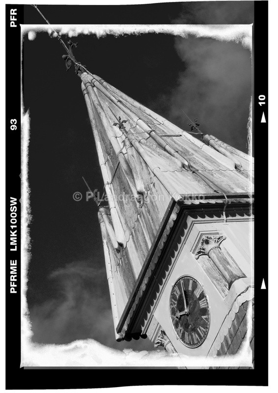 Tower Somerset - Black & White