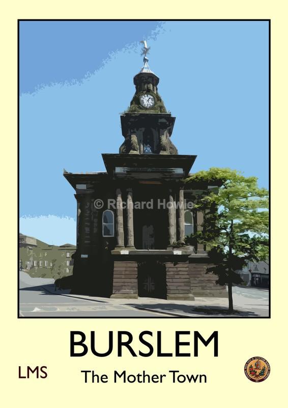 Burslem - Railway Posters