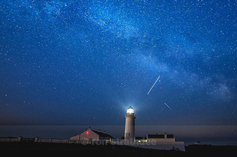 Langness Lighthouse and Space Station - Skies of Man