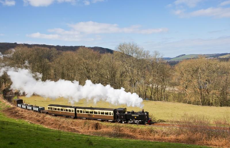 Above the Afon Rheidol - The Lure of Steam