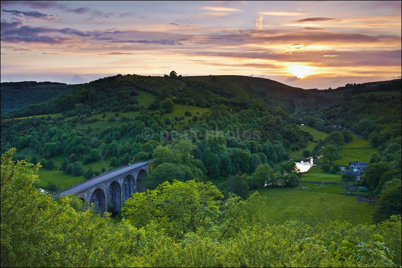 Monsal Head Dusk - Peak District | White Peak
