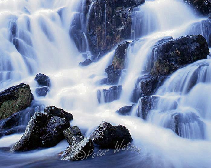 Near Bala Snowdonia Wales - Rivers & Waterfalls