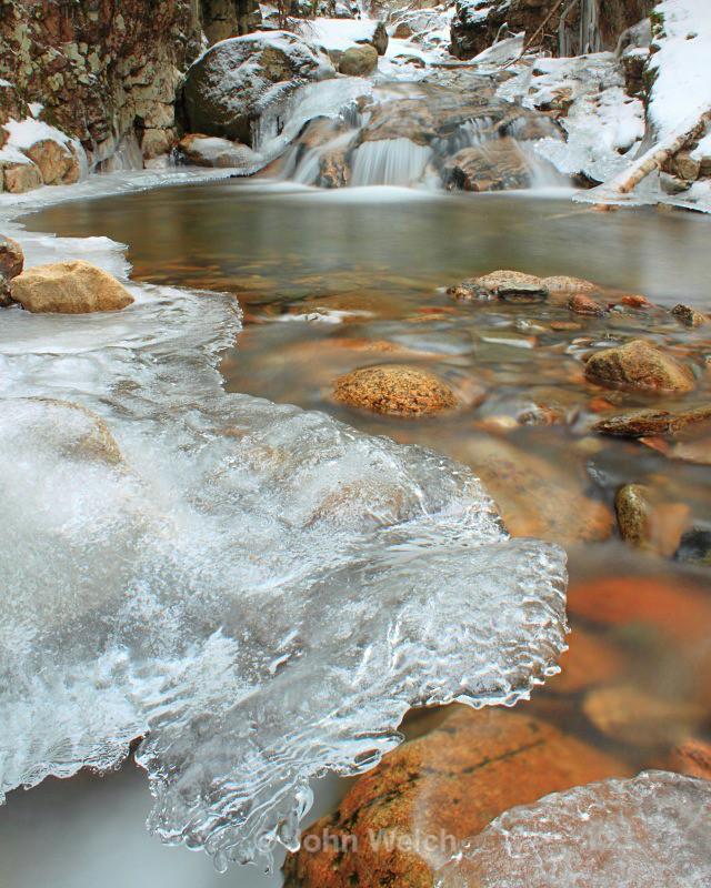 Beecher Cascade Ice Formation - Winter