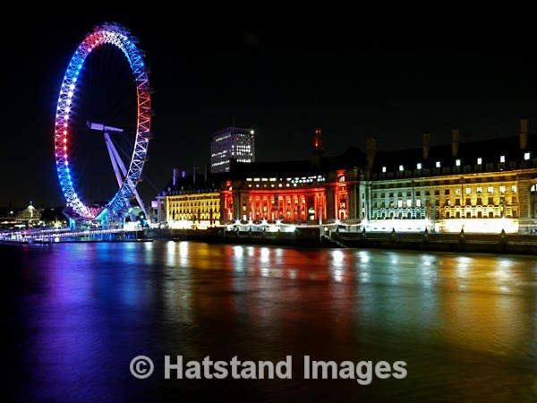 London at night - places
