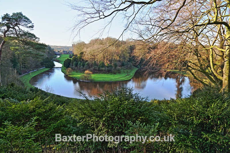 The River Skell At Studley - Fountains Abbey