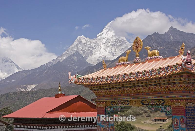 Buddhist Monastery - Nepal