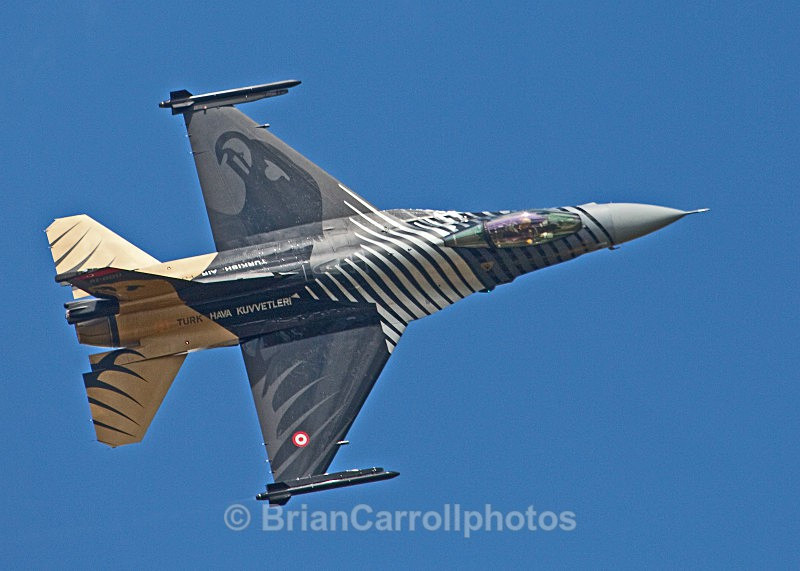 Turkish Air Force ,General Dynamics/Lockheed Martin F-16 - RAF Fairford RIAT 2009 - 2014 Airshows