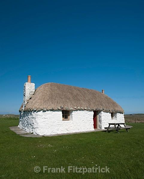 Crofters cottage, North Uist. - North Uist