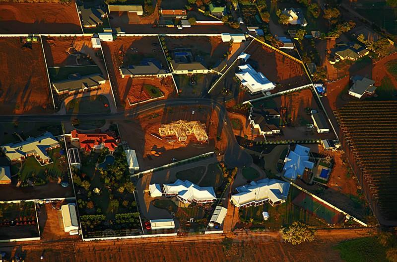 Aerial view of a new House build in Mildura-3-3807 - AERIAL PHOTOS