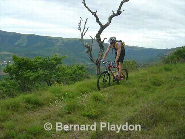 Bernard on Kens road - Avon Heights rides