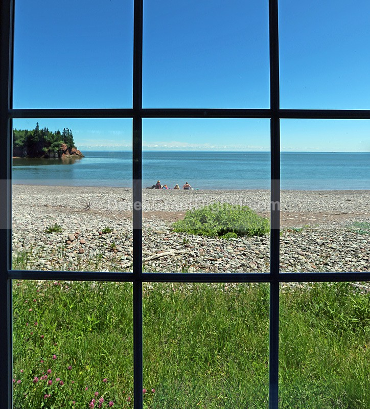 Bayview Window - New Brunswick Landscape